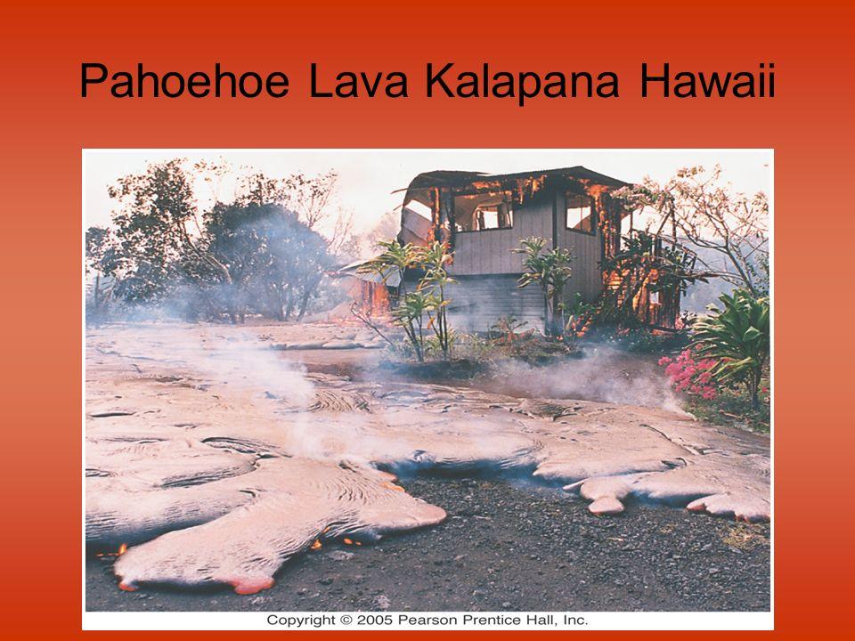 Pahoehoe Lava Kalapana Hawaii