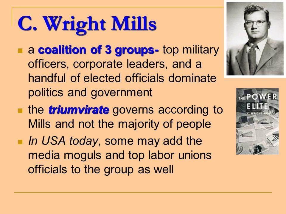 C.Wright Mills C.