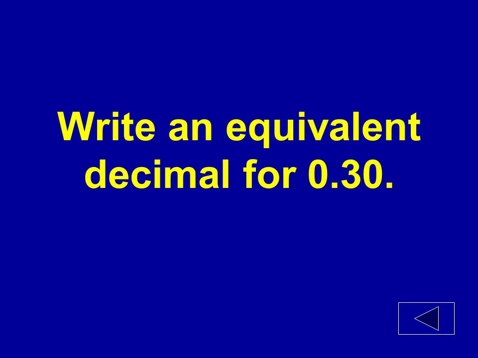 Write the decimal for 26/100.