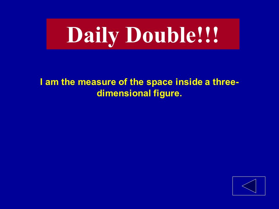 I am a two-dimensional pattern for a three- dimensional solid.
