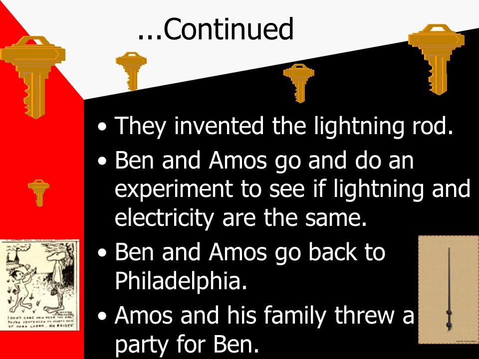 Amos goes and lives with Ben.Amos goes and lives with Ben.