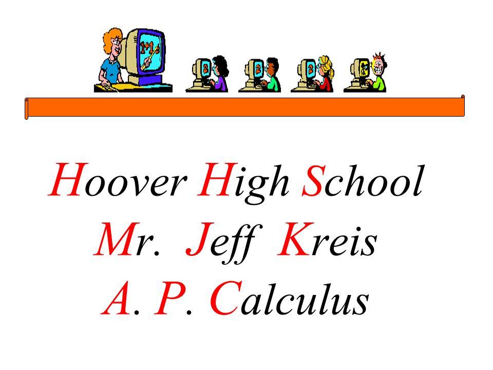Mr.Kreis - A. P. Calculus 2 Mr.