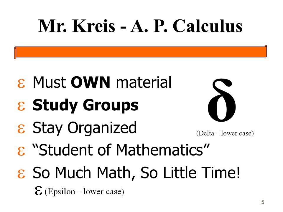 Mr.Kreis - A. P.