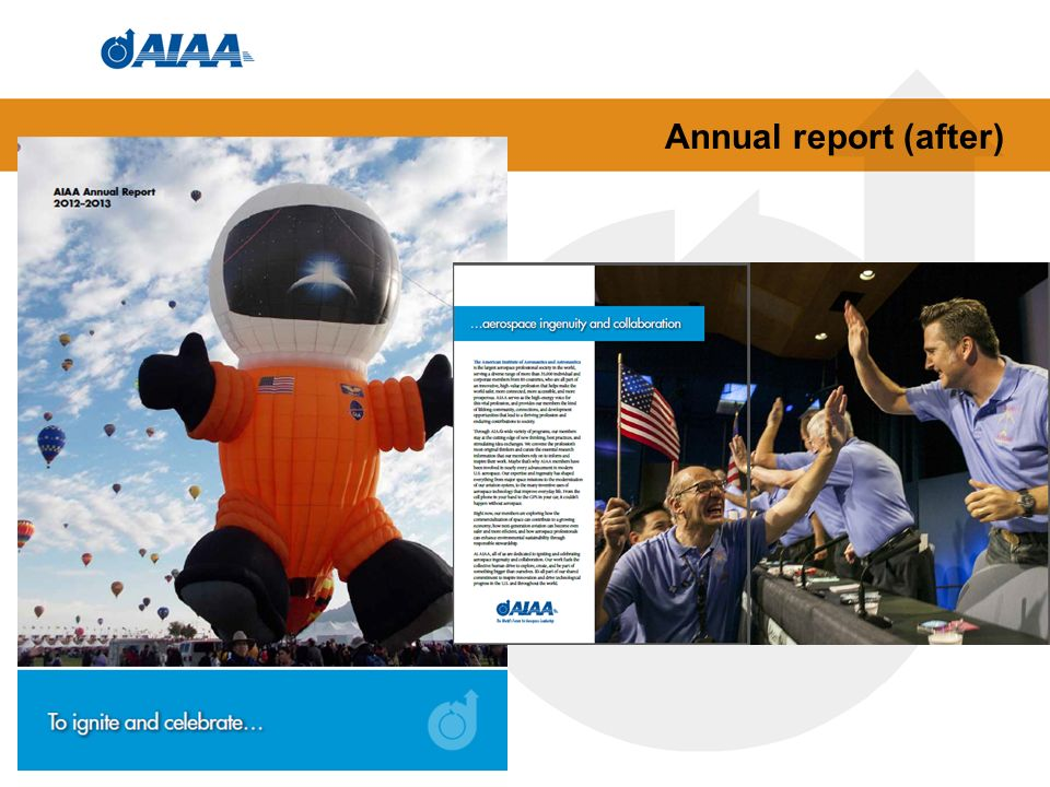 Annual report (after)