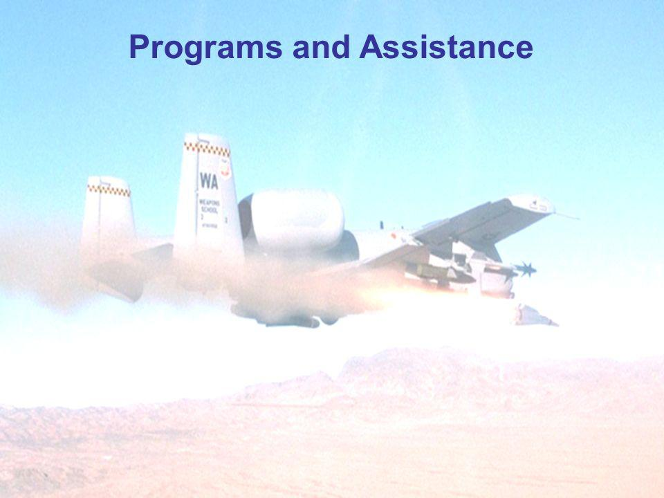 73 Programs and Assistance