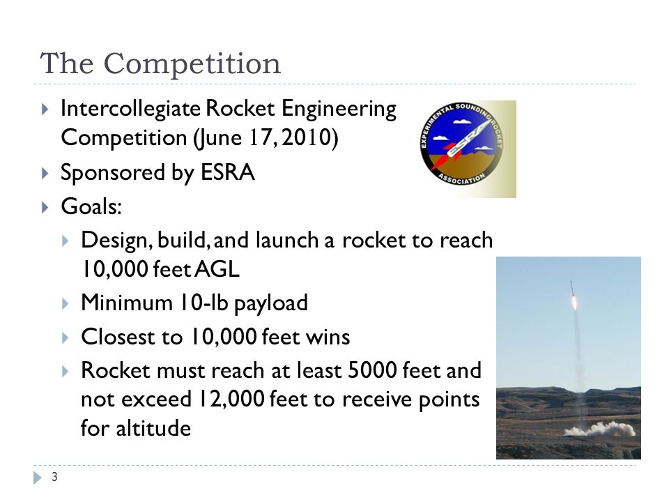 Last Year One successful Launch Learned lots of basics Most components were pre-fabricated 4