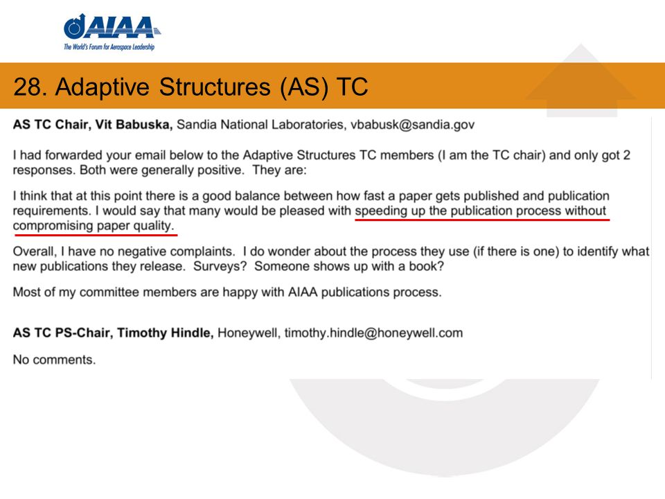28. Adaptive Structures (AS) TC