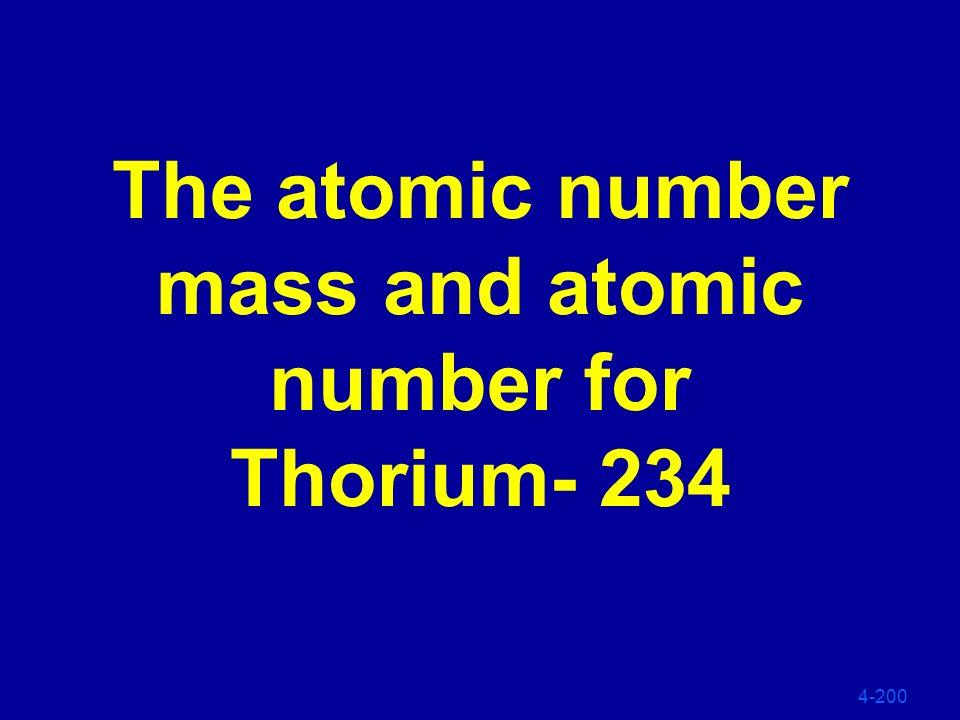 4-100 238 U 234 Th 234 Pa 234 U 230 Th 929091 9290 Alpha Beta Beta Alpha