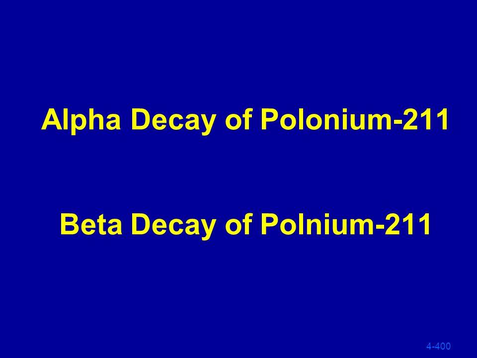 What is: Alp ha Alpha 4-300 241 95 241 96 0 Am Cm + e Beta