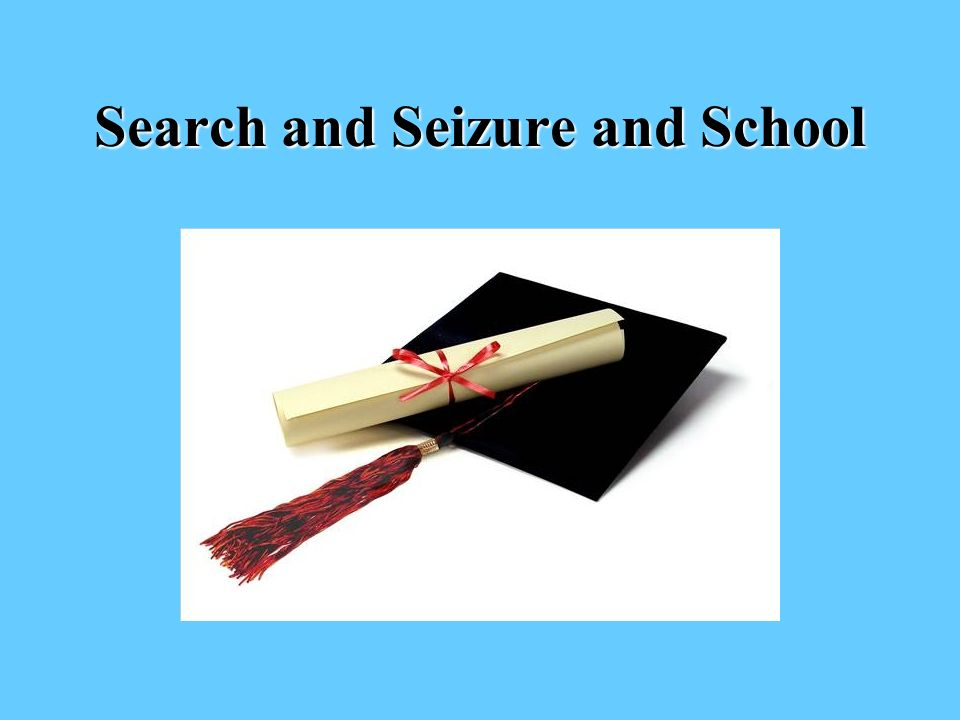 Search and Seizure and School