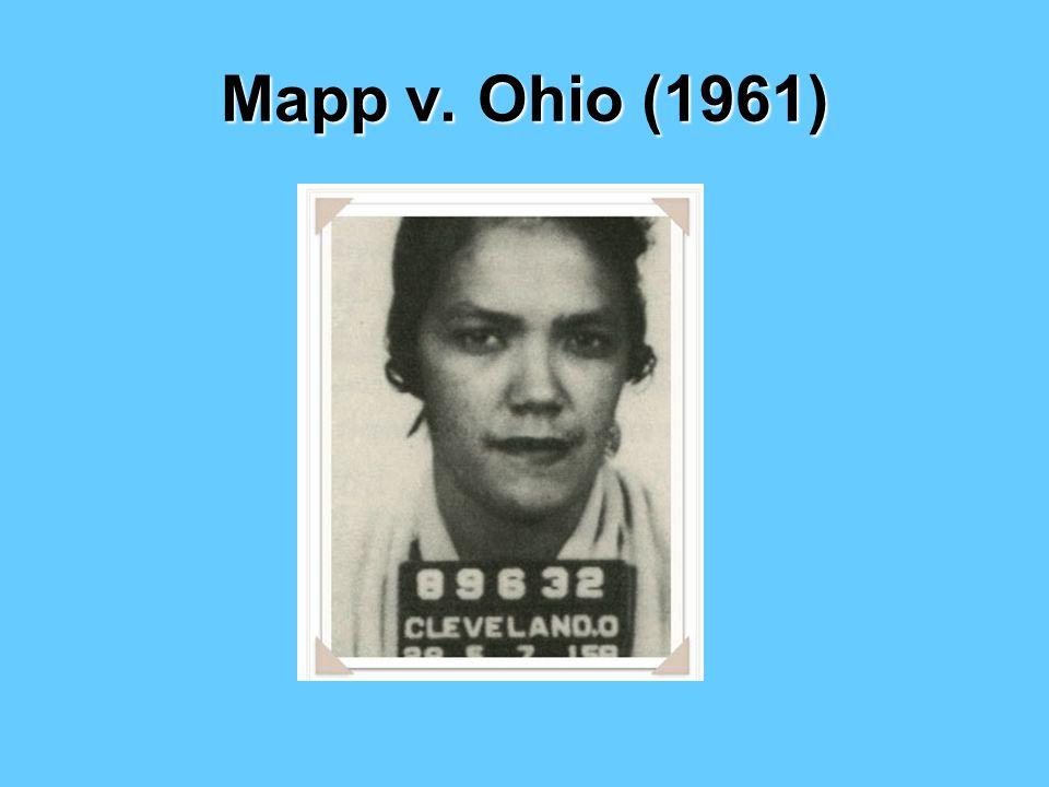 Mapp v. Ohio (1961)