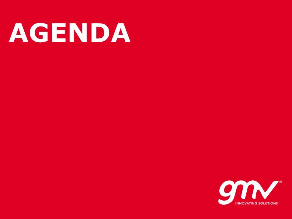 © GMV, 2008 Property of GMV All rights reserved AGENDA