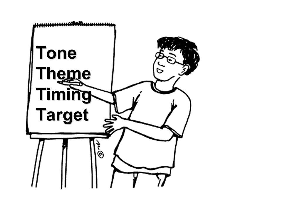 Tone Theme Timing Target