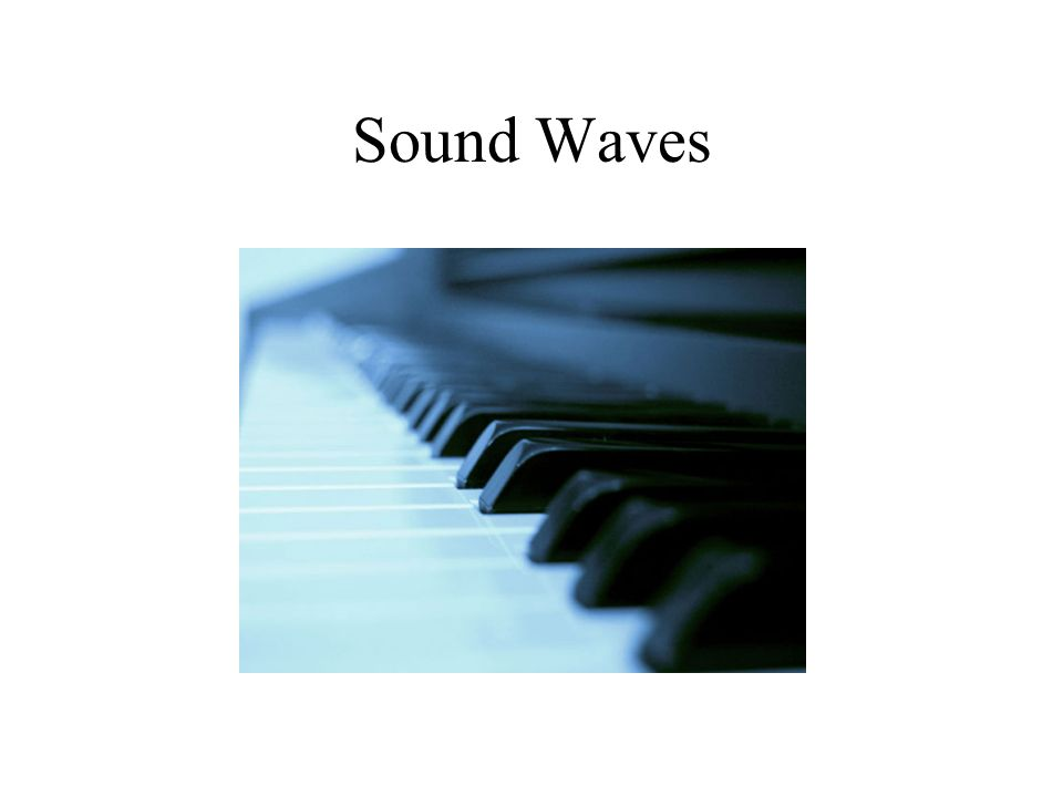 Sound waves move out in a circular pattern.