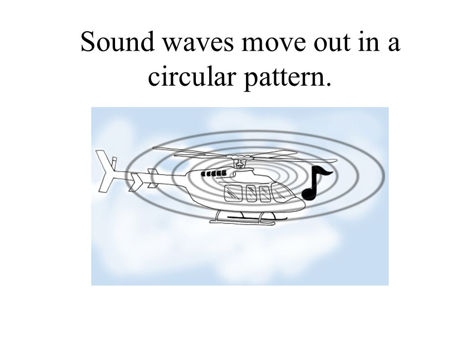 High and Low sound waves A high sound waveA low sound wave
