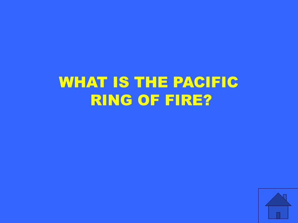 WHAT IS THE PACIFIC RING OF FIRE?