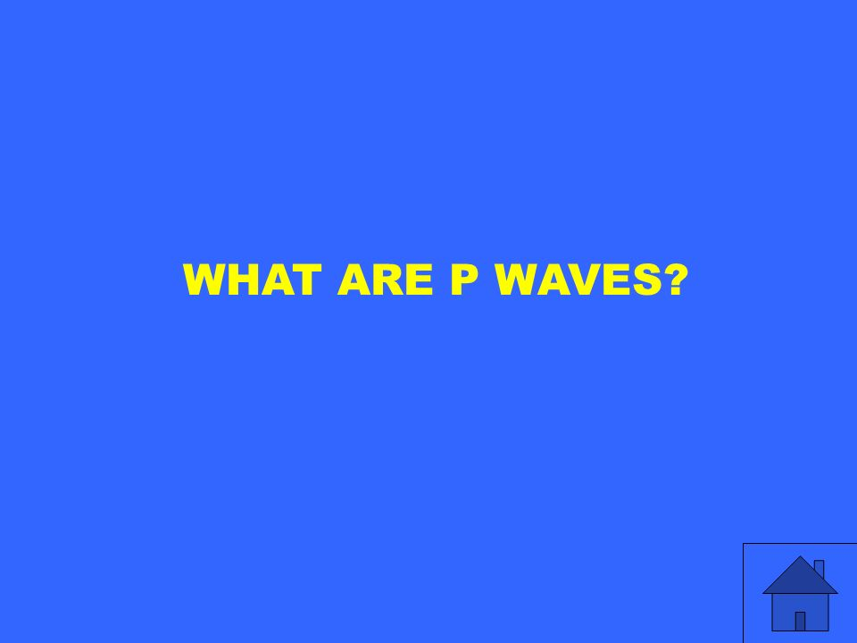 WHAT ARE P WAVES?