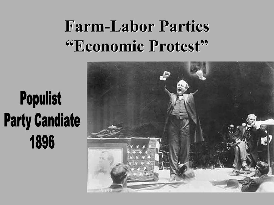 Farm-Labor Parties Economic Protest