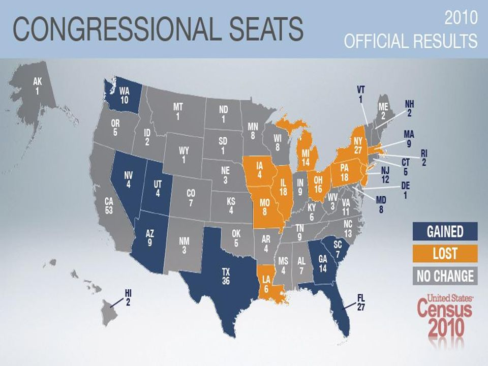 Congressional Apportionment 2012