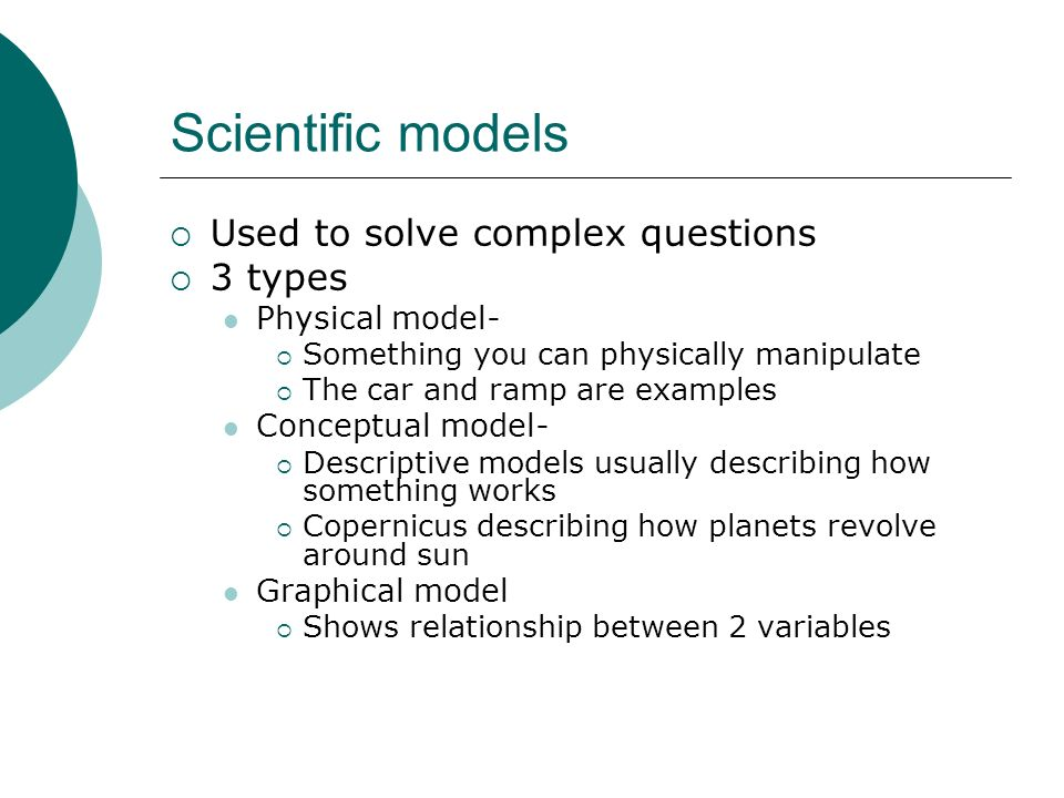 Graphical models Can use graphs to predict values that you did not measure Ex.