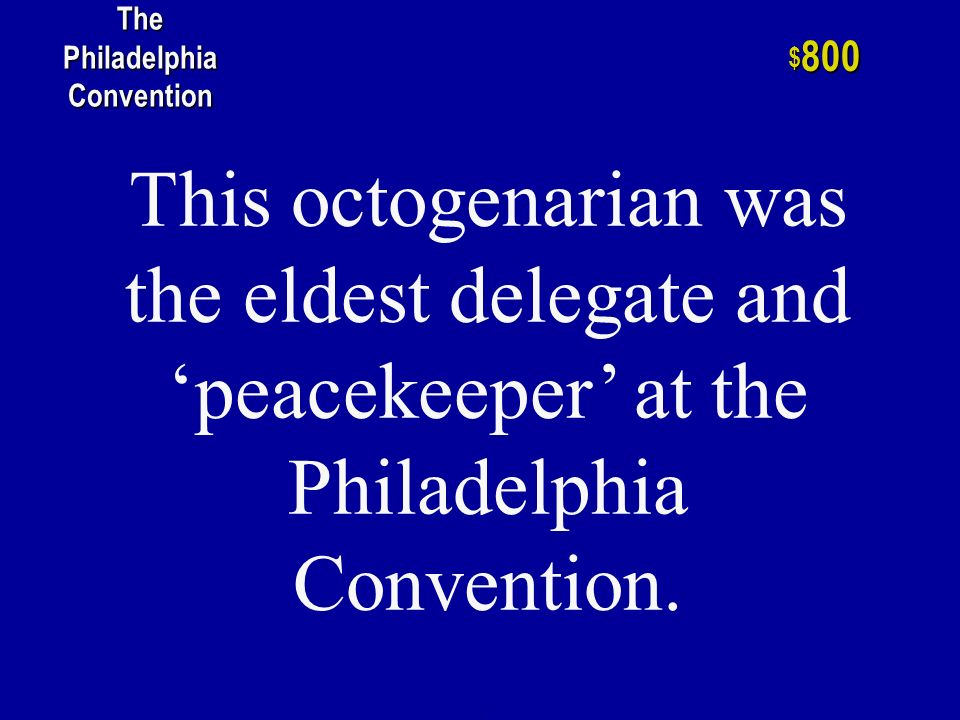 The name given to the groups who supported a stronger national government and those who favored strong state government. h $ 600 The Philadelphia Conv