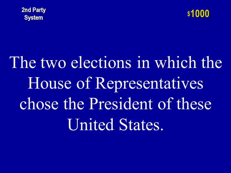 This method replaced the use of the King Caucus method of nominating Presidential candidates for office.