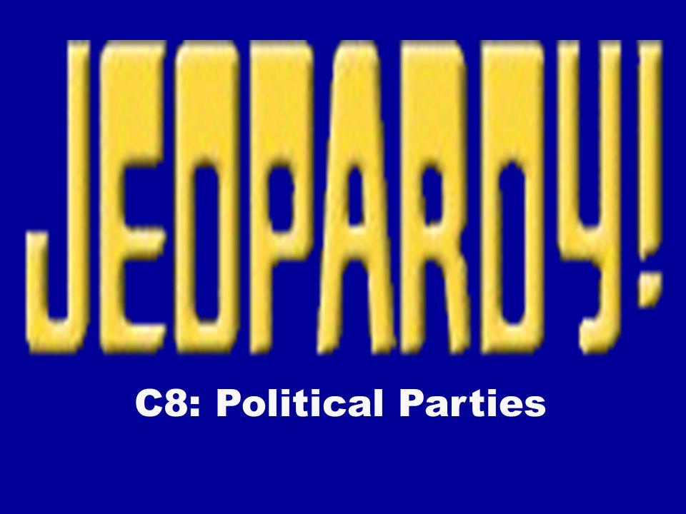 C8: Political Parties