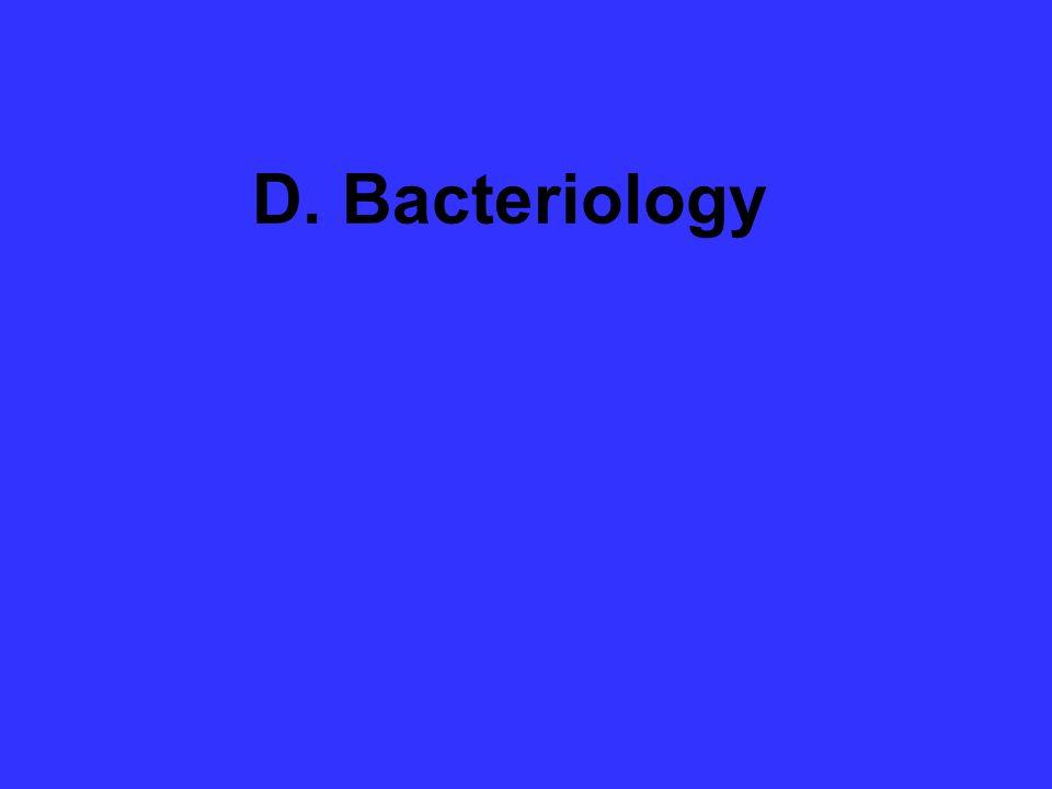 D. Bacteriology
