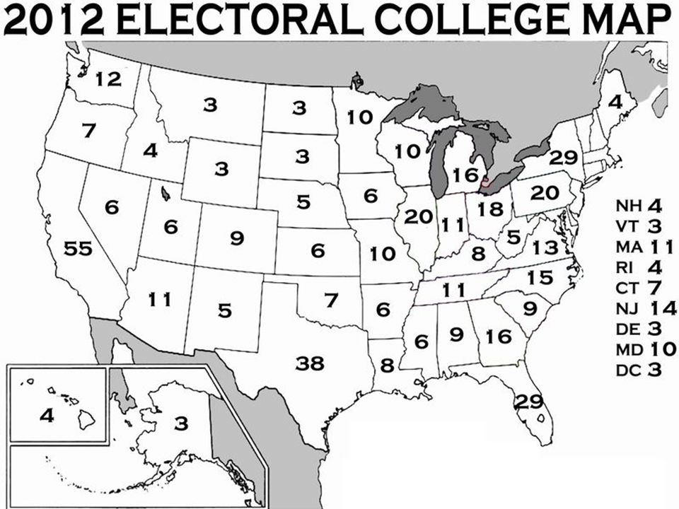 Government: Presidential Elections and the Electoral College Worksheet