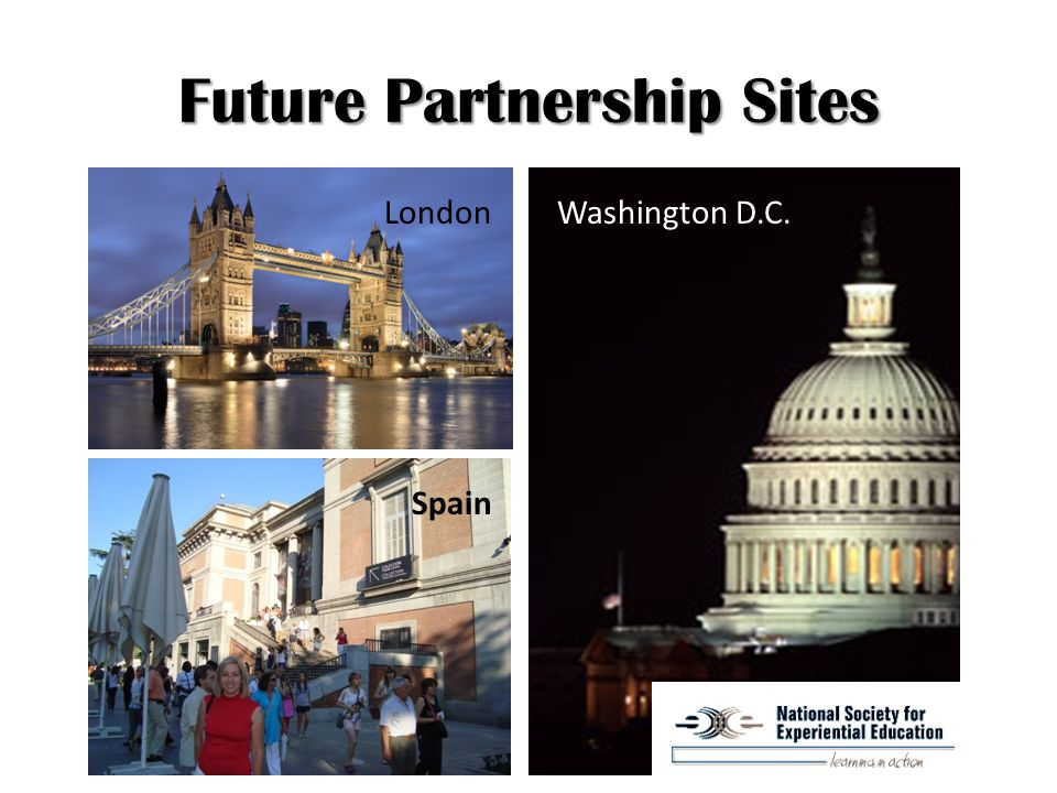 Future Partnership Sites Washington D.C..London Spain