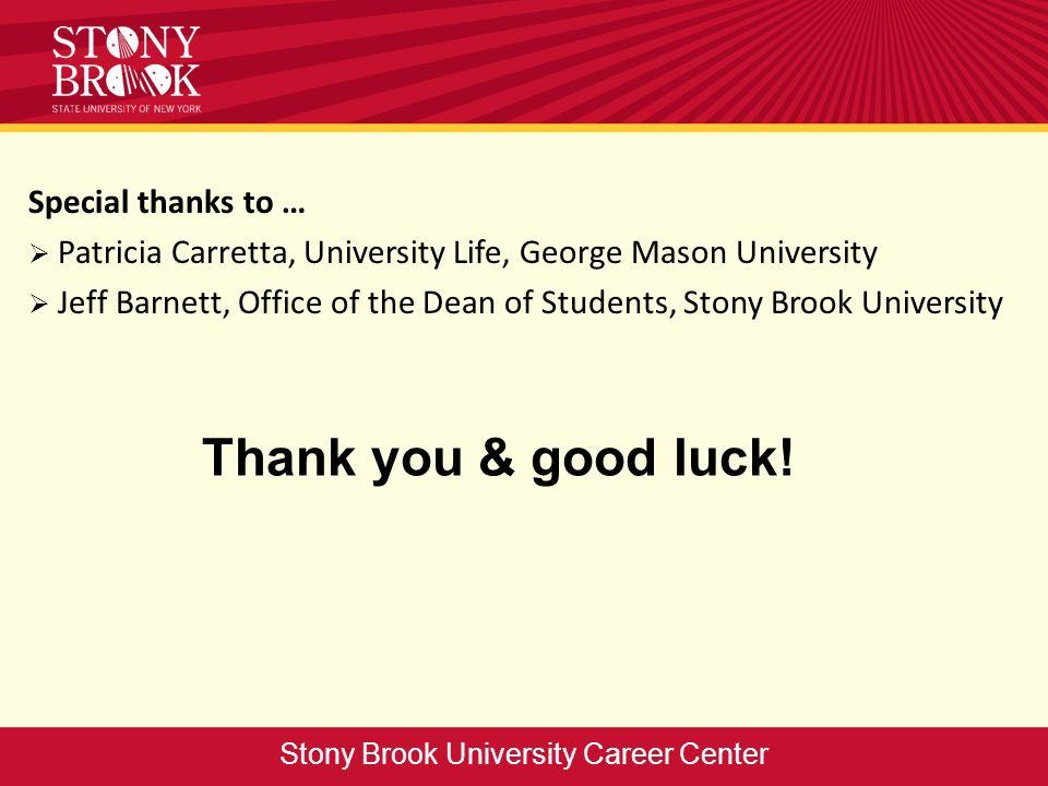 Thank you & good luck.