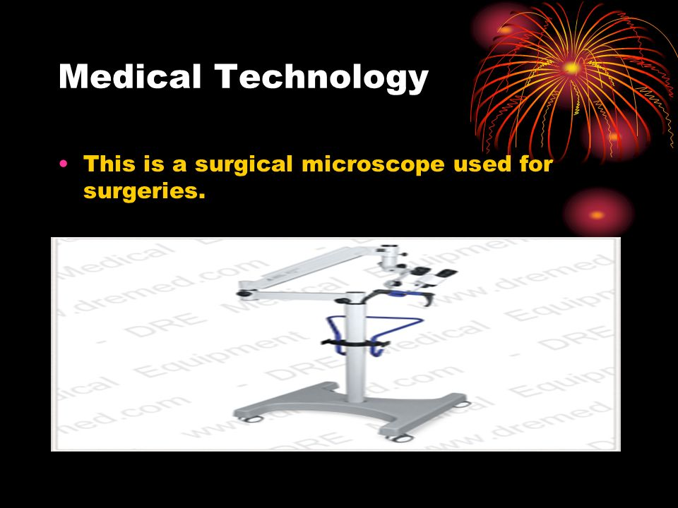 Medical Technology This is a laser eye surgery machine that eye doctors use.