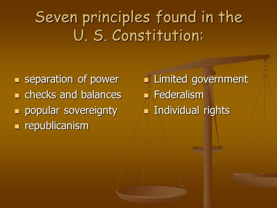 the united states constitution essay