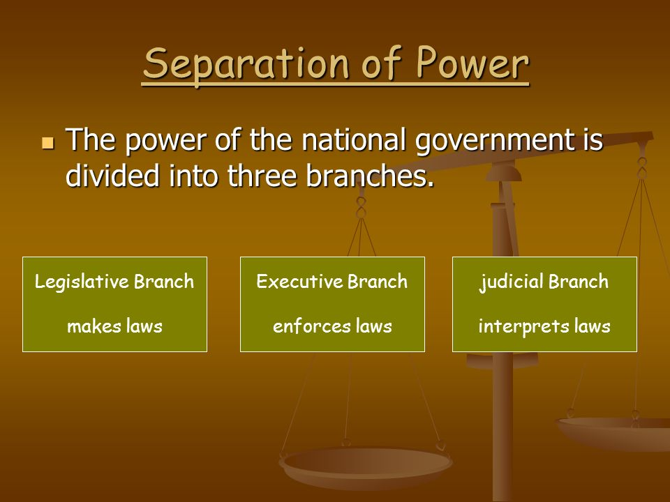 Checks and Balances Checks and Balances The three branches check or limit each other to prevent one branch from becoming too powerful.