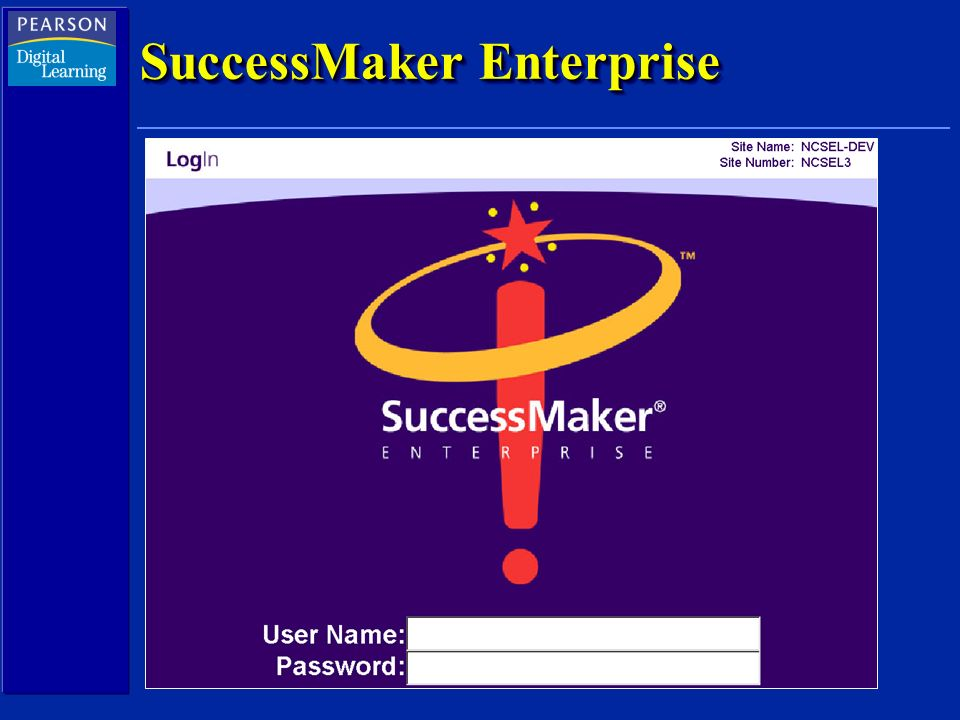 SuccessMaker Enterprise