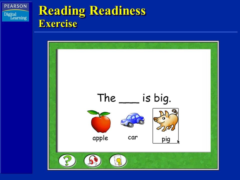Reading Readiness Exercise