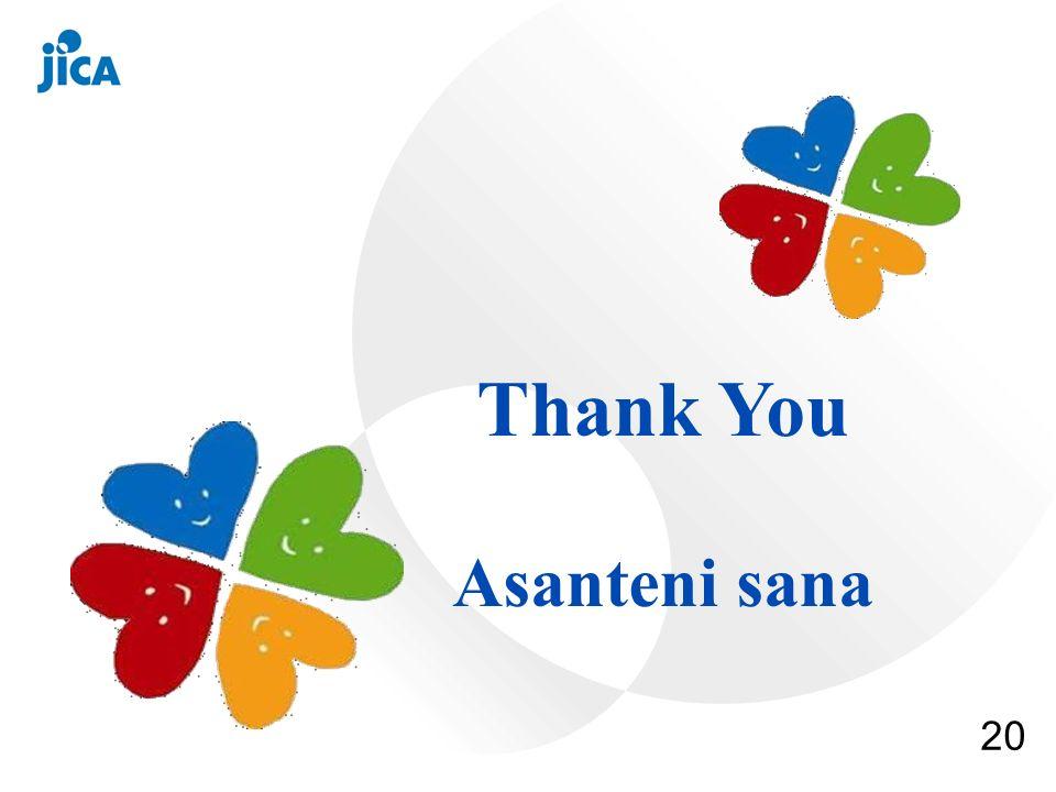 20 Thank You Asanteni sana