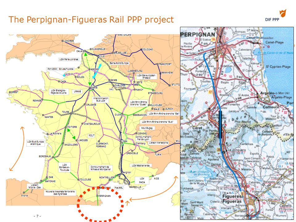 - 7 - The Perpignan-Figueras Rail PPP project