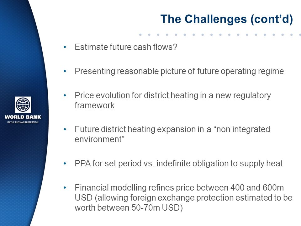 Estimate future cash flows.