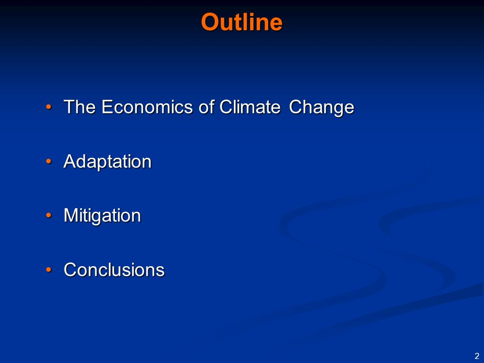 1 Presentation draws on: Presentation draws on: Chapter 4 of current World Economic OutlookChapter 4 of current World Economic Outlook Paper on Fiscal Implications of Climate ChangePaper on Fiscal Implications of Climate Change Both available at www.