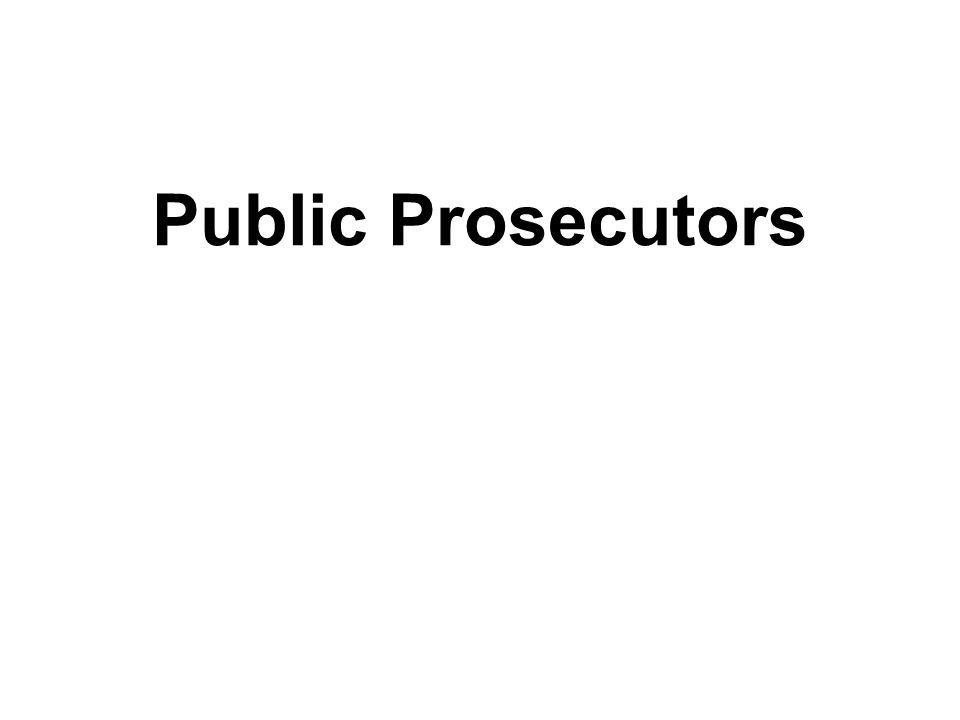 Public Prosecutors