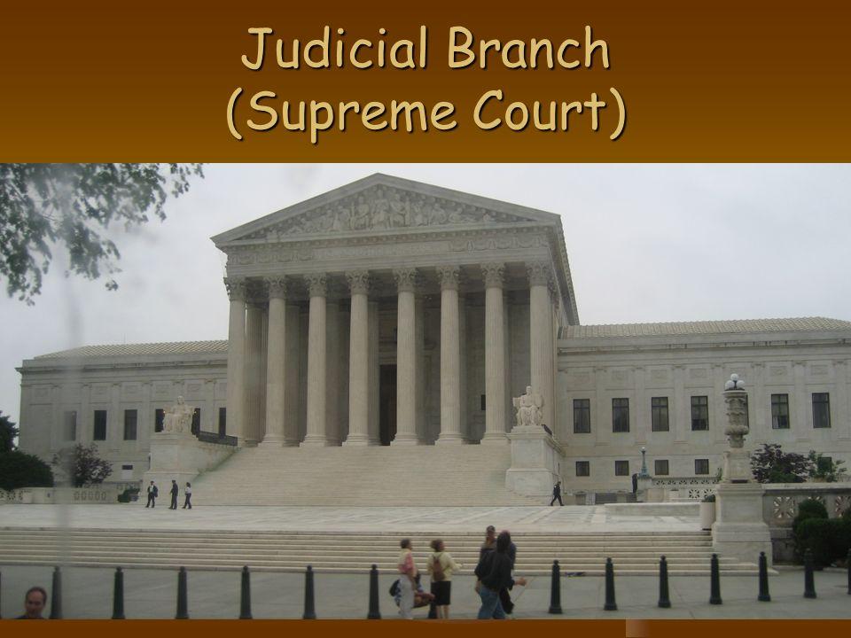 Judicial Branch (Supreme Court)