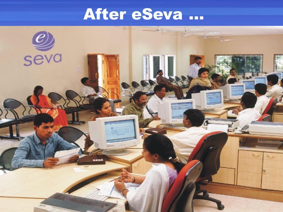 After eSeva …