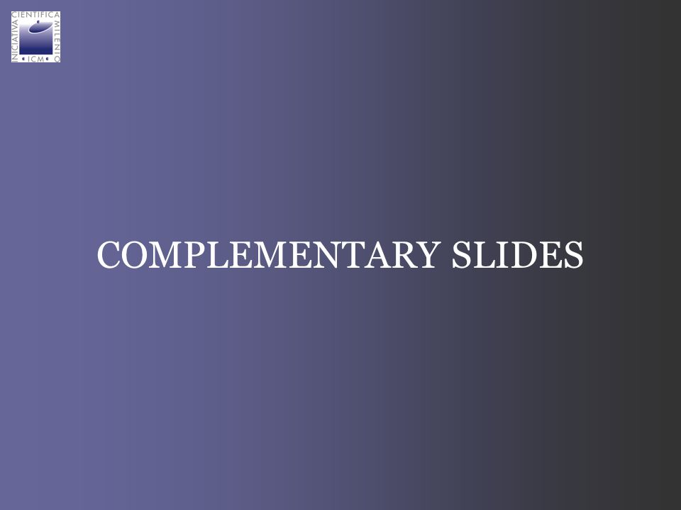 COMPLEMENTARY SLIDES