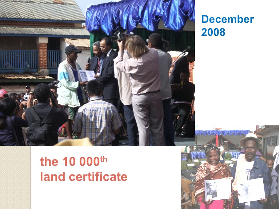 December 2008 the th land certificate