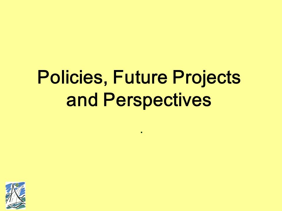 Policies, Future Projects and Perspectives.