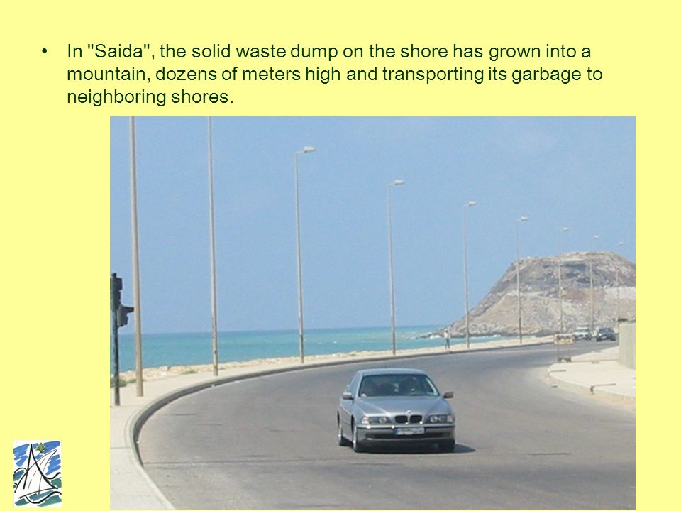 Between Saida and Beirut, private commercial developments and industrial establishments, most of them built illegally