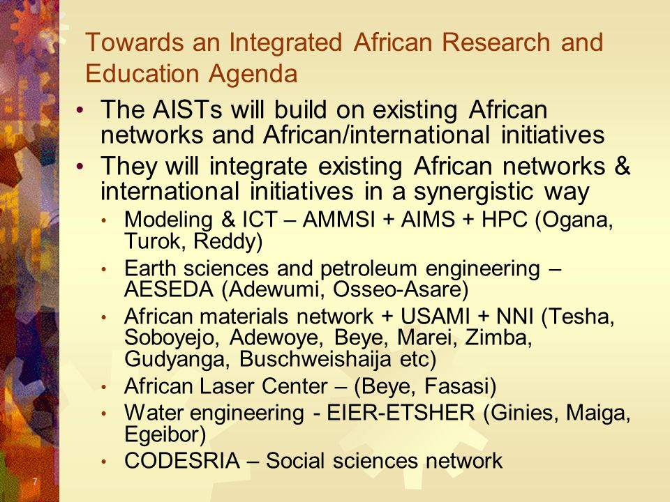 18 Links to Industry The AISTs are being linked to industry to ensure: Curriculum is relevant to employers e.g.