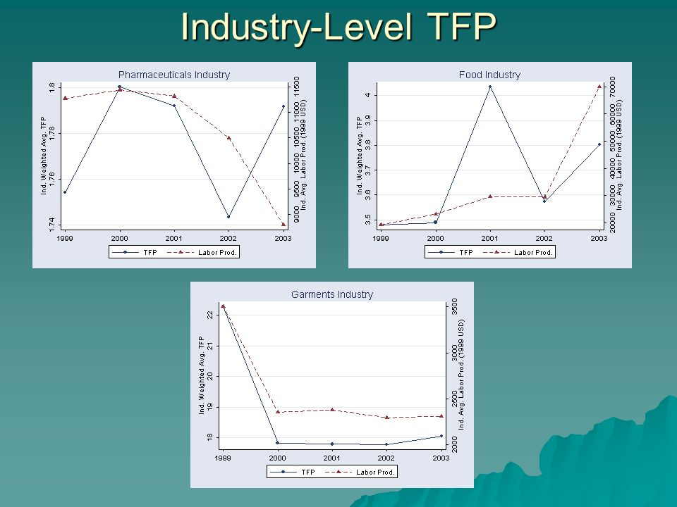 Industry-Level TFP