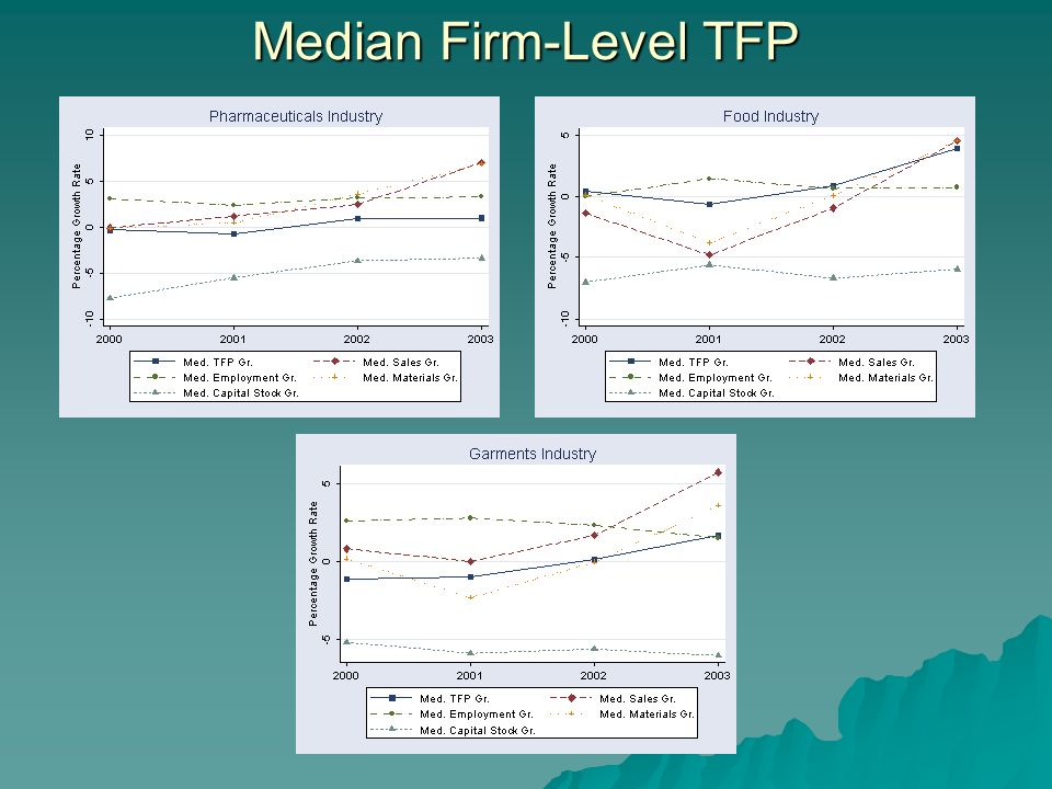 Median Firm-Level TFP